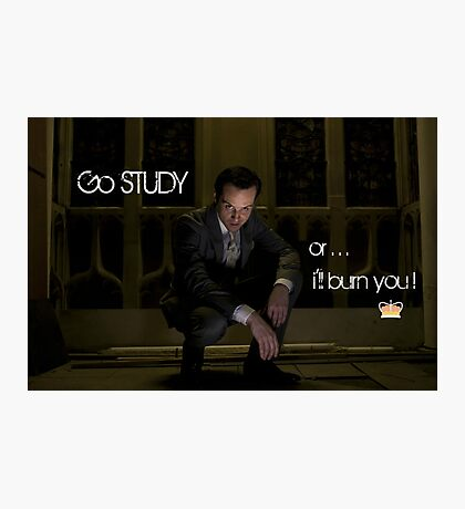 Go Study—James Moriarty v2 Photographic Print
