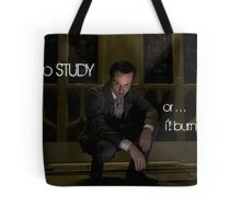Go Study—James Moriarty v2 Tote Bag