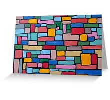 brickwork Greeting Card
