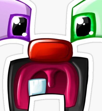 The Toothed Creeper Sticker