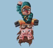 The Pilot Pig! Kids Clothes