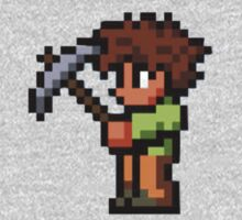 Terraria Character with Pickaxe by iTzLegolas