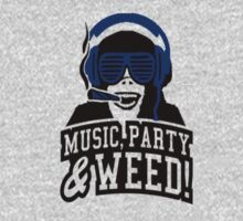 Music Party Weed by clubbers06