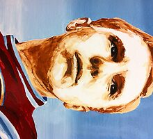 SIR BOBBY MOORE by Mark Kellett