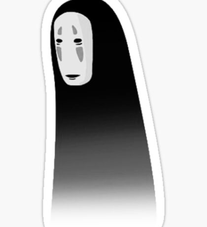 Spirited Away No Face Sticker