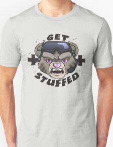 GET STUFFED (Tan) Unisex T-Shirt