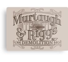Murtaugh & Riggs Demolition Metal Print