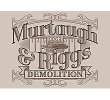 Murtaugh & Riggs Demolition Photographic Print