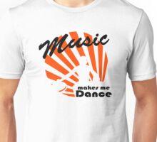 Dj at work - music makes me dance Unisex T-Shirt