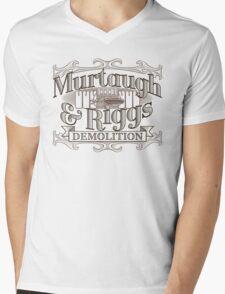 Murtaugh & Riggs Demolition Mens V-Neck T-Shirt