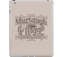 Murtaugh & Riggs Demolition iPad Case/Skin