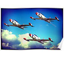 T33 Thunderbirds Poster