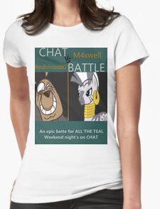 M4xwell vs Redblood801 Womens Fitted T-Shirt