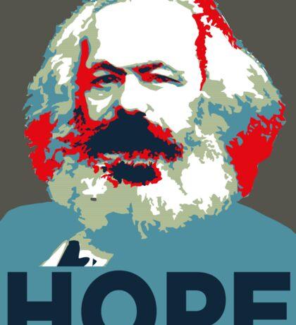 Karl Marx Hope 2016 Sticker