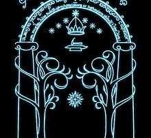 Speak Friend and Enter-The Lord of the Rings by augustinet