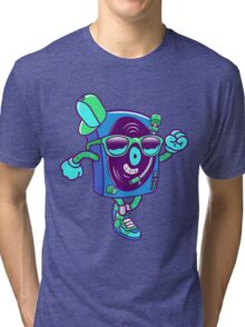 The Turntable #1 Tri-blend T-Shirt