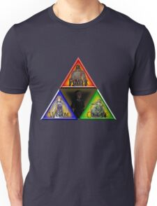 Triforce - Wisdom, Courage, Power Unisex T-Shirt