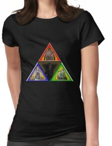 Triforce - Wisdom, Courage, Power Womens Fitted T-Shirt