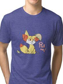 Fennekin Tri-blend T-Shirt