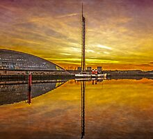 PS Waverley on River Clyde by ScotPix