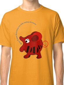 Unidentified animal Having an Identity crisis, vector text Tee Classic T-Shirt