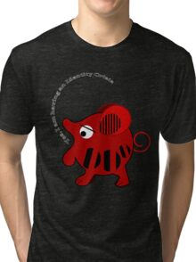 Unidentified animal Having an Identity crisis, vector text Tee Tri-blend T-Shirt