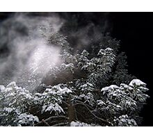 Blowing Snow Photographic Print