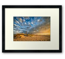 Summer Stormclouds Framed Print