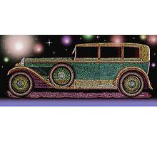 Vintage Car - Colorful Photographic Print