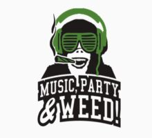 Music Party Weed 3 by clubbers06