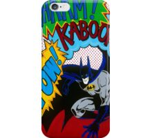 Batman Wham Kaboom Pow iPhone Case/Skin