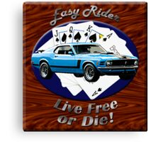 Ford Mustang Boss 302 Easy Rider Canvas Print
