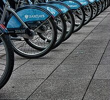 Boris Bikes by liberthine01