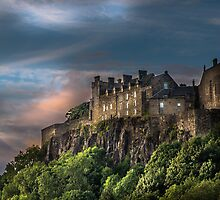 Storm Clouds over Stirling Castle by ScotPix