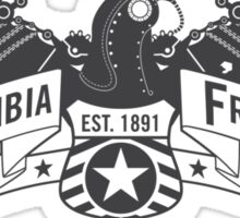 Bioshock Infinite - Columbia Freight (Dark Gray) Sticker