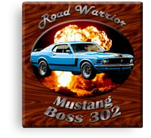 Ford Mustang Boss 302 Road Warrior Canvas Print