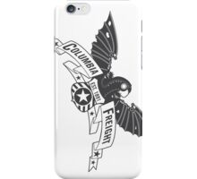 Bioshock Infinite - Columbia Freight (Dark Gray) iPhone Case/Skin