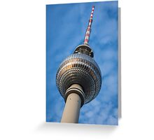 Higher Spire of the capital Greeting Card