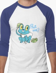 Froakie Men's Baseball ¾ T-Shirt