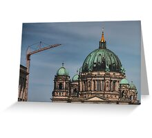 Cathedral domes of Berlin Greeting Card