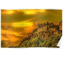 Stirling Castle in Scotland Poster