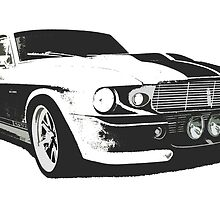 Mustang GT500 Graphic by BenLindsay