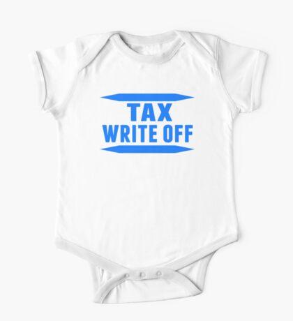 Tax Write Off One Piece - Short Sleeve