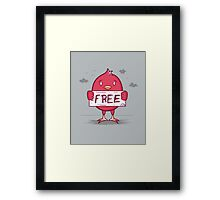 Free Bird Framed Print