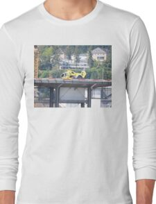 Eurocopter Helicopter Long Sleeve T-Shirt