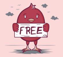 Free Bird Kids Tee