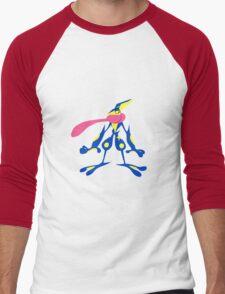 Water Shuriken  Men's Baseball ¾ T-Shirt