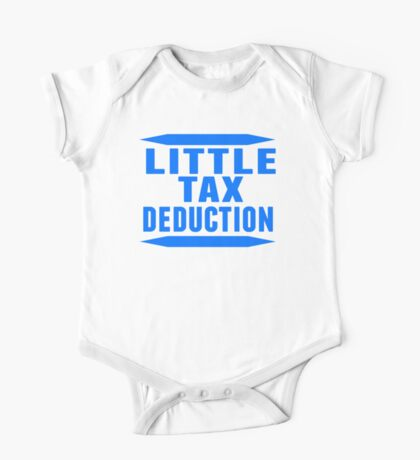 Little Tax Deduction One Piece - Short Sleeve