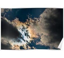 Iridescent Clouds - Assateague Island National Seashore, Maryland Poster