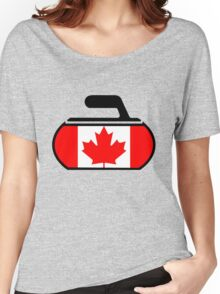 Canada Curling Women's Relaxed Fit T-Shirt